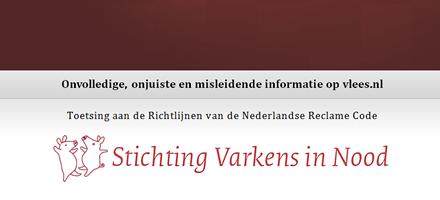 Klacht over Vlees.nl bij RCC